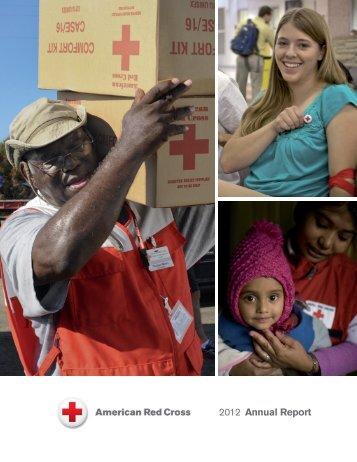 2012 Annual Report - American Red Cross