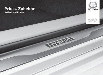 Prius+ Zubehör - Toyota