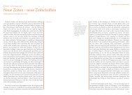 neue Zeitschriften. Publizistische Projekte um 1800. (PDF)