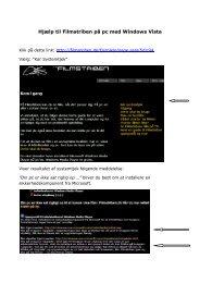 Hjælp til Filmstriben på pc med Windows Vista