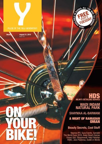 Y - Issue 137 - August 31, 2010. - Y-oman.com