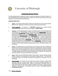 Housing and Dining Contract 2012-2013 - Panther Central ...