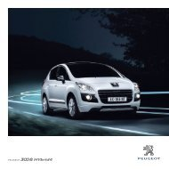 Brosjyre - Peugeot