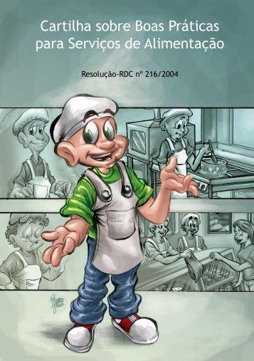 Cartilha sobre Boas Práticas para Serviços de Alimentação - Anvisa