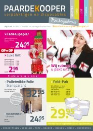 Packagedeals - Paardekooper