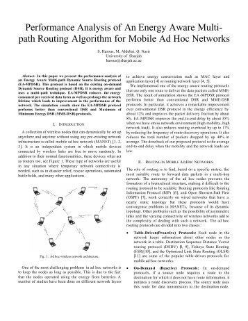path Routing Algorithm for Mobile Ad Hoc Networks
