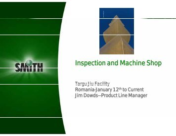 Inspection and Machine Shop - Petroleumclub.ro