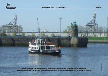 Ausgabe 3 Juli 2013 - Arbeitsgemeinschaft Binnenfähren in ...