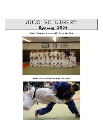 JUDO BC DIGEST