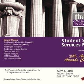 28th Annual Awards Ceremony Program (May 2010)