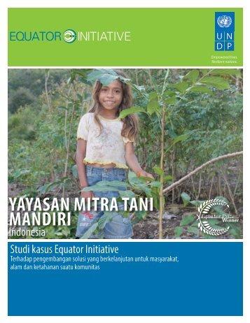YAYASAN MITRA TANI MANDIRI - Equator Initiative