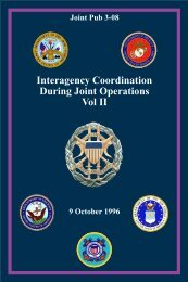 JP 3-08 Interagency Coordination During Joint Operations Vol II - BITS