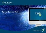 Pension Schemes Online Guide - New Ireland Assurance