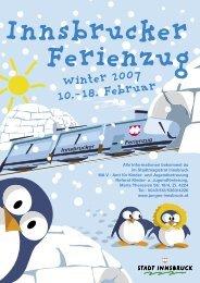 Innsbrucker Ferienzug - Junges Innsbruck