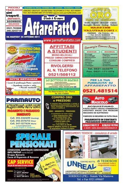 ACQUISTIAMO AUTO USATE Affare Fatto Parma