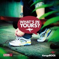 SPRING SUMMER 2013 - KangaROOS