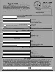 Electrical Permit Application - Town of Easton