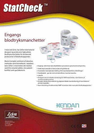 Engangs blodtryksmanchetter - Kendan