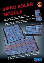 INPRO SOLAR MODULE - Select Solar