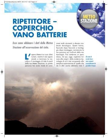 RIPETITORE – COPERCHIO VANO BATTERIE