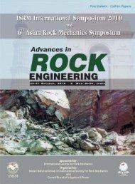 Download program - Society For Rock Mechanics & Engineering ...