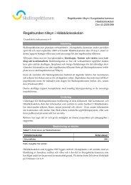 Skolinspektionens rapport - Kungsbacka kommun
