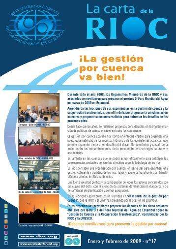 La Carta de la RIOC - INBO