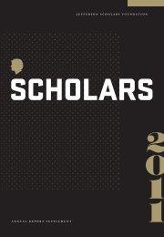 ScholarS - Jefferson Scholars Foundation