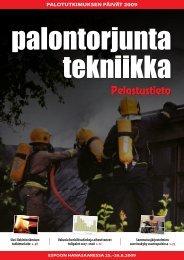 Palotutkimuksen päivät 2009 - Pelastustieto