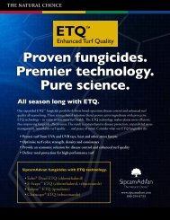 ETQ line of fungicides - Advanced Turf Solutions