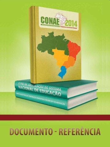 Documento - RefeRência - Fórum Nacional de Educação ...