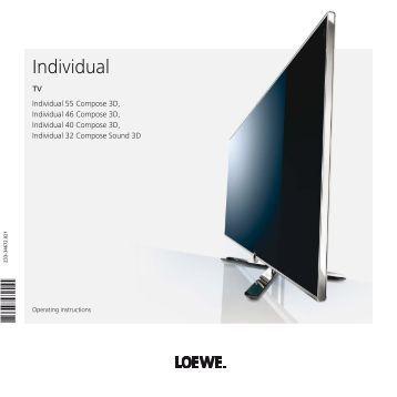 loewe xelos 32 media loewe individual home entertainment. Black Bedroom Furniture Sets. Home Design Ideas