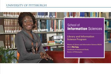 Library and Information Science Program PittOnline - School of ...