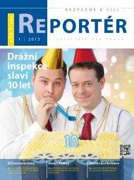 Reportér 2013/1 - AŽD Praha, sro