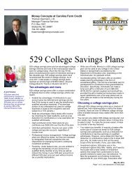 529 College Savings Plans - Carolina Farm Credit