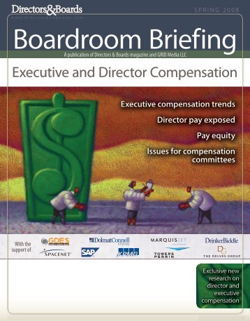 Executive and Director Compensation - Directors & Boards