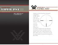 Vortex 6-24x50 EBR-1 MRAD reticle manual - Euro Optics Ltd.
