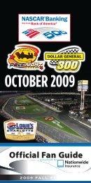 OCTOBER 2009 - Charlotte Motor Speedway