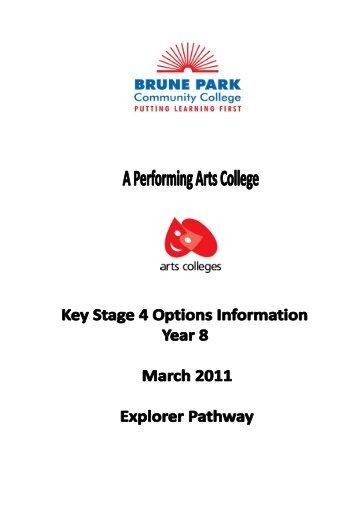 subjects? - Brune Park Community School