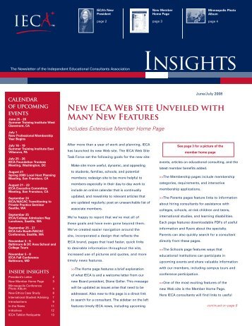 June / July - IECA