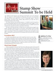 Stamp Show Summit To be Held - American Philatelic Society