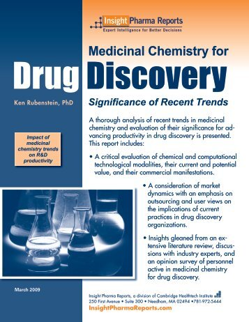 Medicinal Chemistry for - Cambridge Healthtech Institute