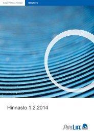 Hinnasto 1.4.2013 - Pipelife Finland Oy