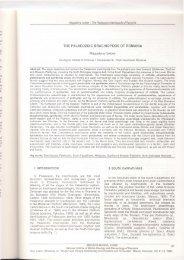 THE PALAEOZOIC BRACHIOPODS OF ROMANIA - GeoEcoMar
