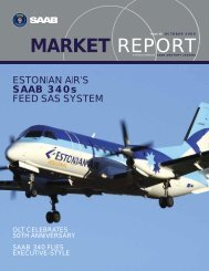 MARKET REPORT - Saab Aircraft Leasing