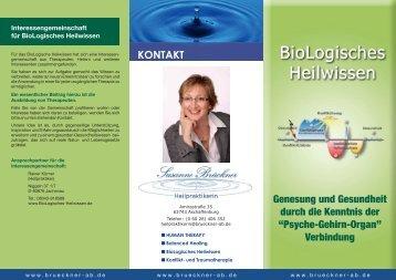 Genesung und Gesundheit durch die Kenntnis ... - brueckner-ab.de