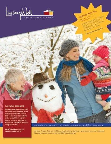 newsletter. - the LivingWell Cancer Resource Center