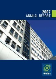 Annual Report 2007 (PDF 555 KB) - Wellington Institute of Technology