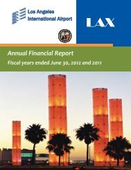 LAX Audited Financial Statements - FY 2012 - Los Angeles World ...