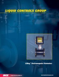 LCMag Product Overview - Liquid Controls